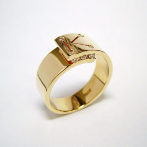 handcrafted mens rings