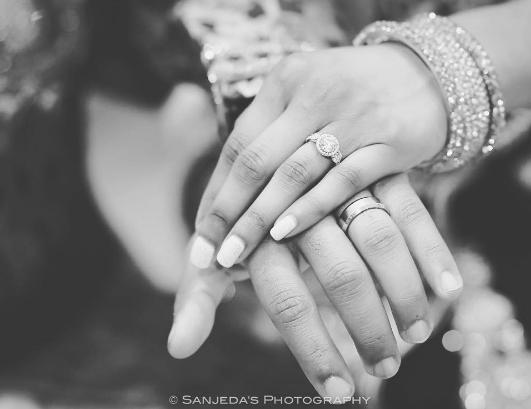 Real Weddings Instagram: Instagram @sanjedasphotography