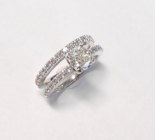 Wedding Band Set Wedding Rings Infacet Jewellers Cape Town